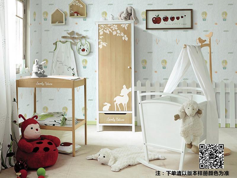 兰太太墙布系列QBC180025