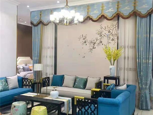 兰芝软装|佛山禅城居然之家店|兰芝窗帘墙布官网